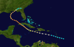 1917 Atlantic hurricane 4 track.png