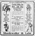 1918 - Shankweiler & Lehr Newspaper Ad Allentown PA.jpg