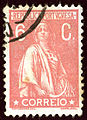 1920 Rose pâle Portugal 6c Yv236.jpg