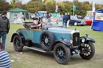Alvis Car and Engineering Company - 1923 12/40 open two-seater