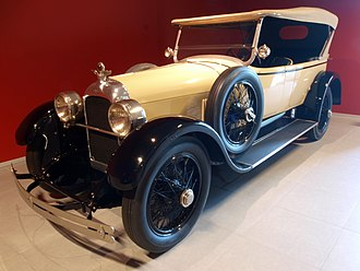 Duesenberg - 1923 Duesenberg Model A touring car at the Louwman Museum