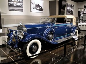 Classic car - 1931 Pierce-Arrow with body by LeBaron