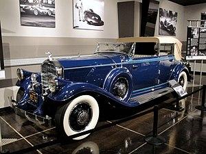 Classic car - 1931 Pierce-Arrow with body by LeBaron