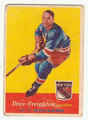 Dave Creighton - Image: 1957 Topps Dave Creighton