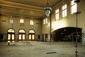Tulsa Union Depot - Tulsa Union Depot interior, under renovation