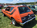 1974 AMC Gremlin X Sienna Orange with black stripes AMO 2015 meet 2of2.jpg
