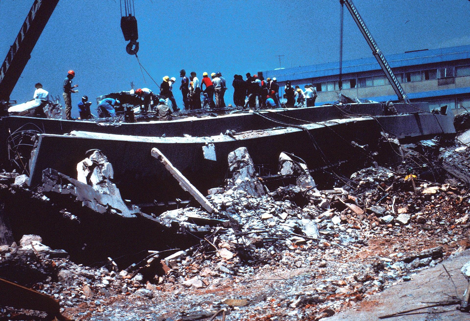1985 Mexico City earthquake - Wikipedia