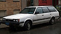 1986 Subaru DL wagon, left front.jpg