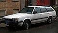 1986 Subaru DL wagon, left front.jpg