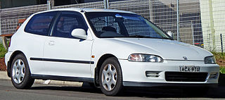 Honda Civic (fifth generation) Motor vehicle model, 1991–1995