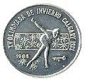 1 песо. Куба. 1986. XV зимние Олимпийские игры, Калгари 1986 - Конькобежный спорт.jpg