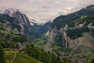 Lauterbrunnen Municipality in Switzerland in Bern