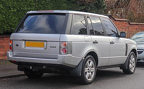 2002 Land Rover Range Rover Vogue V8 Automatic 4.4 Rear.jpg