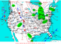 2003-01-11 Surface Weather Map NOAA.png
