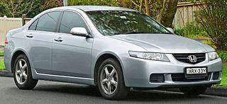 Honda Accord (Japan and Europe seventh generation) Motor vehicle