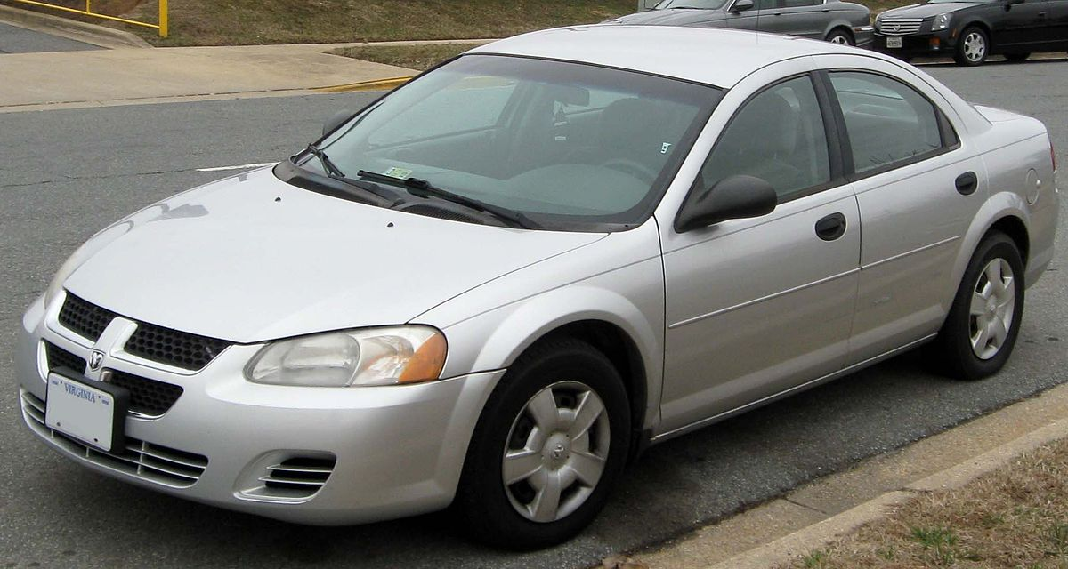 Dodge Cars List >> Dodge Stratus Wikipedia