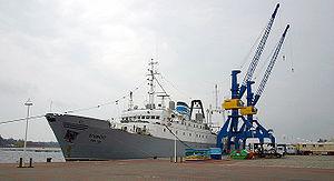 Stubnitz (ship) - Image: 2006 04 Stubnitz