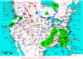 2006-12-25 Surface Weather Map NOAA.png