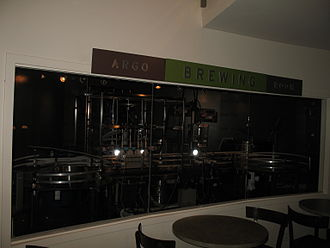 Argo Tea - Brewing room at State and Randolph, July 2, 2006