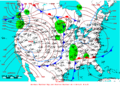 2007-01-07 Surface Weather Map NOAA.png