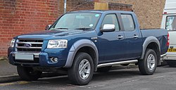 2007 Ford Ranger Thunder TDCI Automatic 3.0 Front.jpg