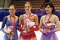 2007 NHK Trophy Ladies Podium.jpg