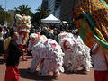 2008 Olympic Torch Relay in SF - Lion dance 23.JPG