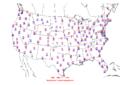 2010-01-07 Max-min Temperature Map NOAA.png