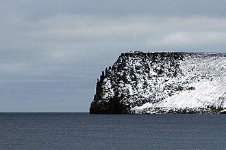 Bennett Island - A headland in Bennett Island.