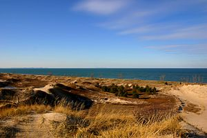 Indiana Dunes National Lakeshore - West Beach, Portage Indiana