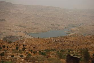 Karak Governorate - Wadi Mujib (Arnon River)