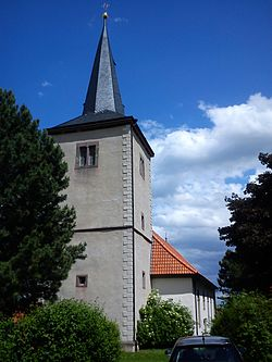 Church of Adenstedt in 2012