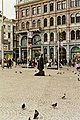 2013-06-22 Living Batman statue on Dam Square, Amsterdam.jpg