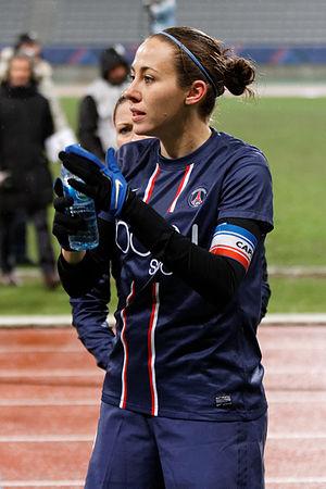 Sabrina Delannoy - Sabrina Delannoy during PSG-Montpellier (season 2012–2013).
