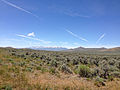 2014-06-22 11 37 53 View southeast toward the East Humboldt Range from U.S. Route 93 about 85 miles north of the White Pine County Line in Elko County, Nevada.JPG
