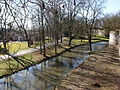 20150312 Maastricht; Jeker in Stadspark seen from Second Medieval City Wall 01.jpg