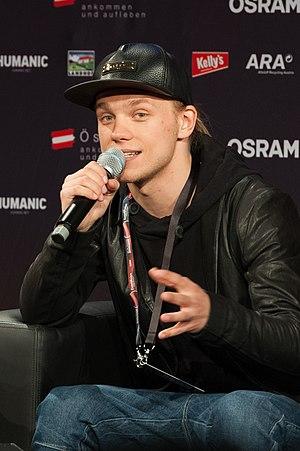 Eduard Romanyuta - Eduard Romanyuta at the Eurovision Song Contest 2015 in Vienna, Austria