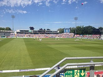 2015 Ashes series - Australia batting on the morning of the third day