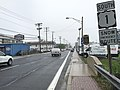 2016-05-13 10 58 13 View south along Washington Boulevard (U.S. Route 1) near the Patuxent River in Laurel, Prince Georges County, Maryland.jpg