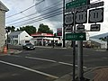 2016-07-19 13 18 29 View east along U.S. Route 211 (Old Cross Road) at U.S. Route 11 (Congress Street) in New Market, Shenandoah County, Virginia.jpg