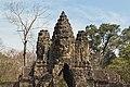 2016 Angkor, Angkor Thom, Brama południowa (20).jpg