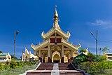 2016 Rangun, Pagoda Maha Wizaya (10).jpg