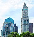2017 75 State Street and Custom House Tower from Central Wharf.jpg