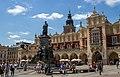 2018-07-04 Adam Mickiewicz Monument on Old Town Market Square in Kraków.jpg