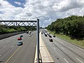 2019-07-18 13 55 16 View north along Interstate 695 (Baltimore Beltway) from the overpass for Westland Boulevard in Arbutus, Baltimore County, Maryland.jpg