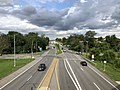 2020-08-07 17 12 44 View east along Maryland State Route 372 (Wilkens Avenue) from the overpass for Interstate 695 (Baltimore Beltway) on the edge of Catonsville and Arbutus in Baltimore County, Maryland.jpg
