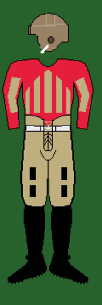 1927 Georgia Bulldogs football team - Image: 20s Georgiauniform