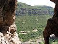 214 Els cingles de Bertí des de la cova de les Tosques.JPG