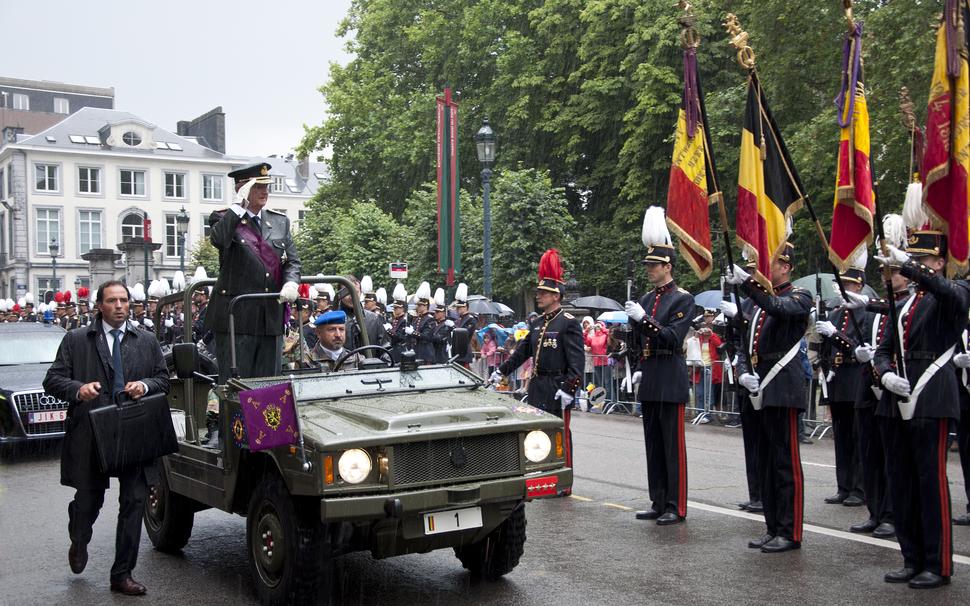 21 juli 2011 Defil%C3%A9 Koning Albert II