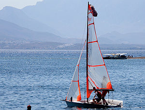 29er (dinghy) - Image: 29er going out